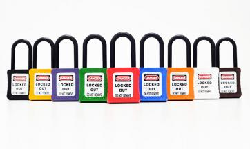 De-electric Safety Lockout Padlocks
