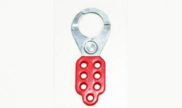 Safety Lockout Hasp - 38 mm Jaw Size, 7 Holes